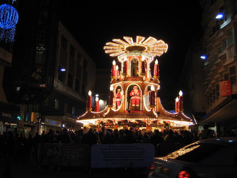 Frankfurt Christmas Market 2012 in Birmingham 4