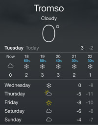 天気予報アプリ