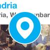 foursquare チェックインボタン