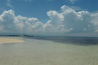 the beach in Cebu