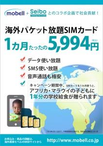 海外パケット放題SIM